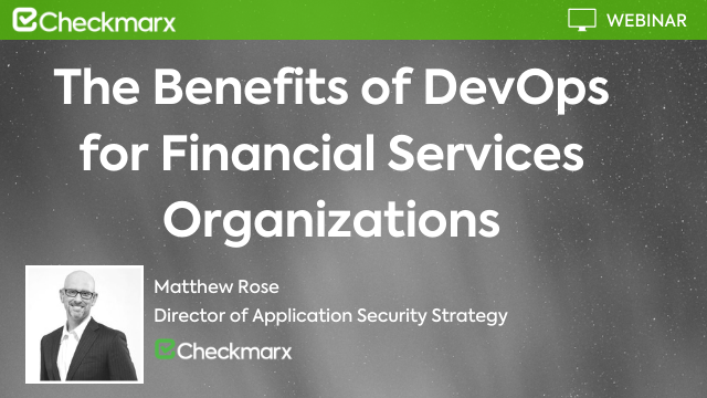 The Benefits of DevOps for Financial Services Organizations