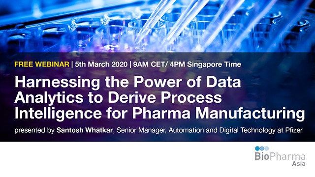 Harnessing the Power of Data Analytics to Derive Process Intelligence for Pharma