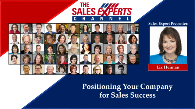 Positioning Your Company for Sales Success