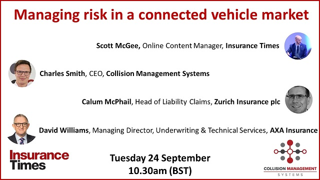 Managing risk in a connected vehicle market