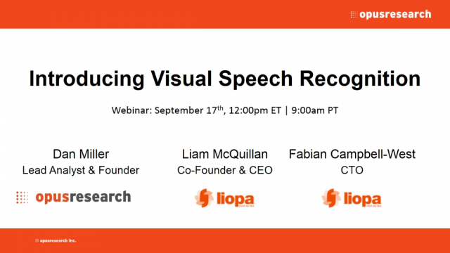 Introducing Visual Speech Recognition