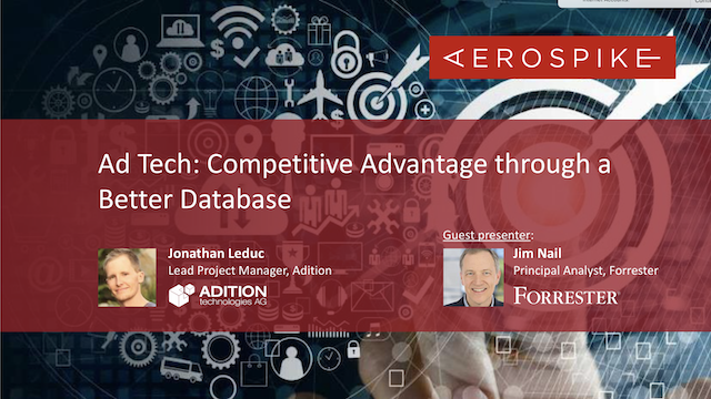 Ad Tech: Competitive Advantage through a Better Database