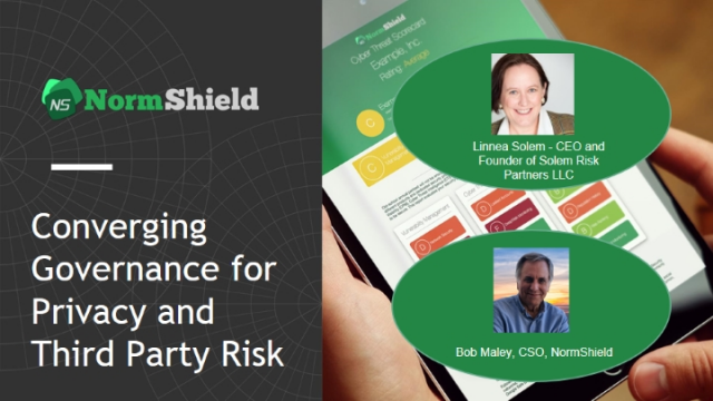 Converging Governance for Privacy and Third Party Risk