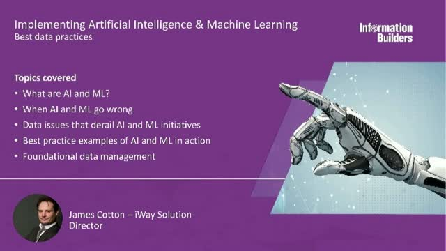 Best data practices for implementing Artificial Intelligence & Machine Learning