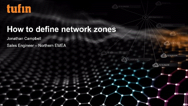 How to Define Network Zones