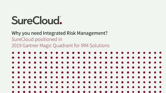 Why you need Integrated Risk Management?