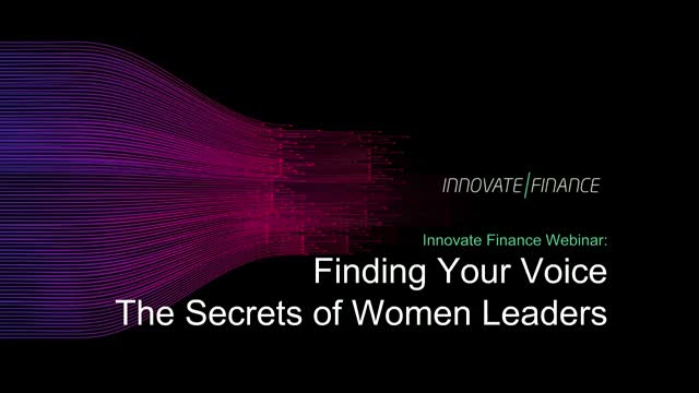 Finding Your Voice - The Secrets of Women Leaders