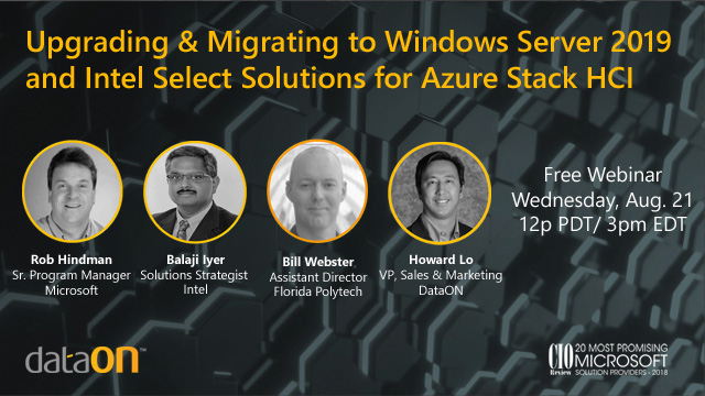 Upgrading & Migrating to WS 2019 and Intel Select Solutions with Azure Stack HCI