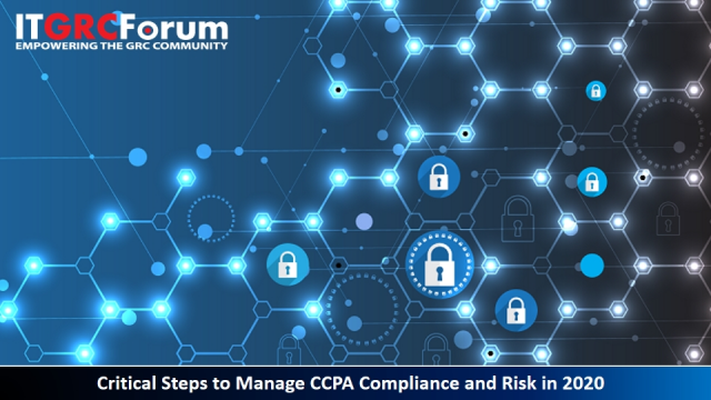 [Earn CPE] Critical Steps to Manage CCPA Compliance and Risk in 2020