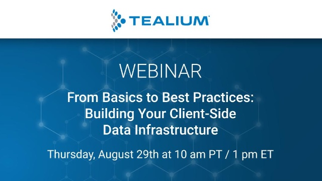 From Basics to Best Practices: Building Your Client-Side Data Infrastructure