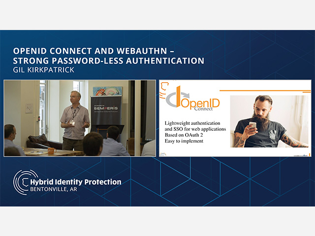OpenID Connect and WebAuthN – Strong Password-Less Authentication