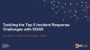 Tackling the Top 5 Incident Response Challenges with SOAR