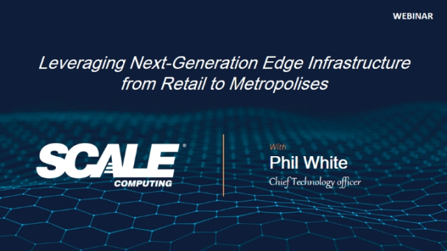 Leveraging Next-Generation Edge Infrastructure from Retail to Metropolises