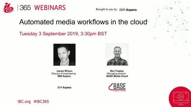 Automated media workflows in the cloud