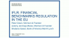 Financial benchmark regulation in the EU