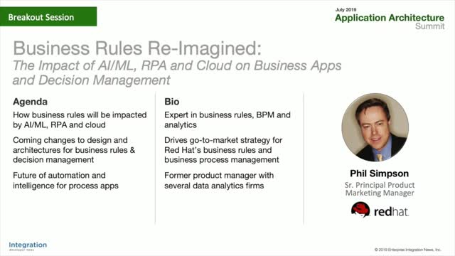 Business rules re-imagined: New approaches to business automation