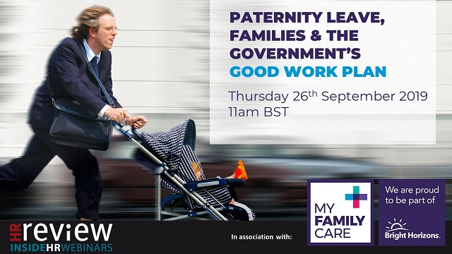 Paternity Leave, Families and the Government's Good Work Plan