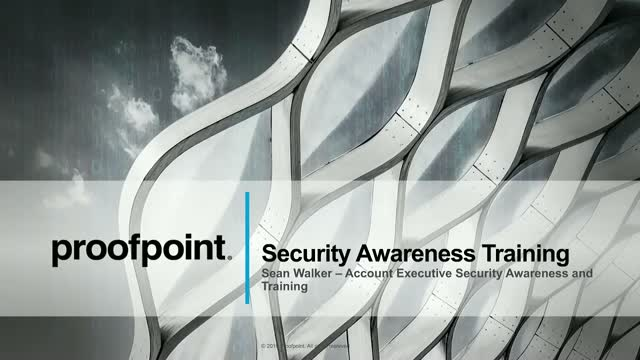 Live Demo: Proofpoint Security Awareness Training
