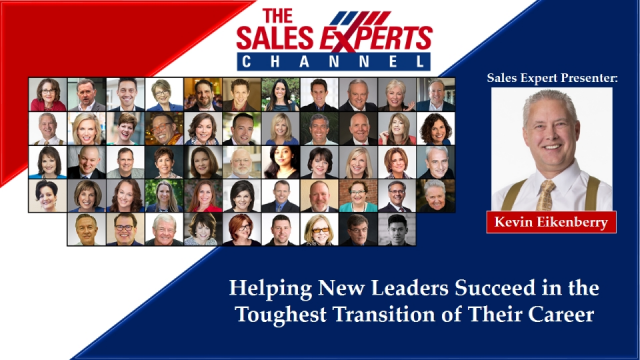 Helping New Leaders Succeed in the Toughest Transition of Their Career