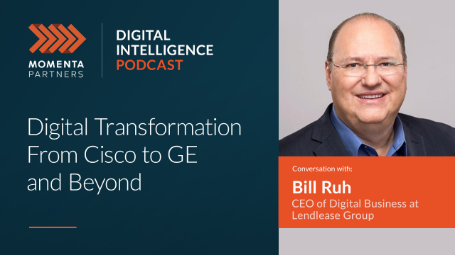 Top 5 Podcasts: Digital Transformation From Cisco to GE and Beyond with Bill Ruh