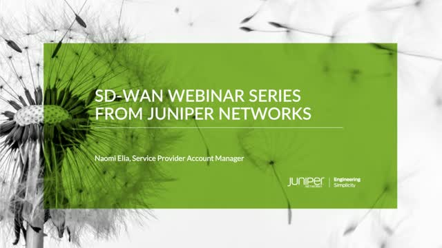 Building a Secure SD-WAN Solution