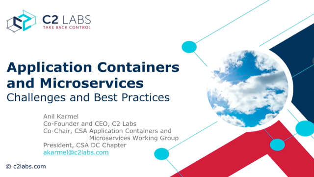 Application Containers and Microservices: Challenges and Best Practices