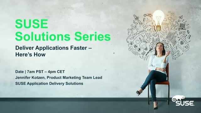 Deliver Applications Faster - Here's How