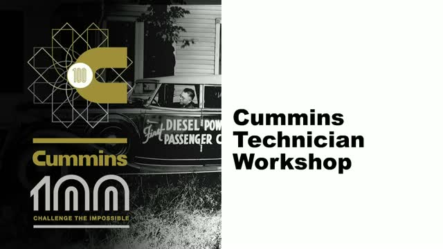 Cummins Maintenance Training School
