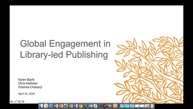Global Engagement in Library-Led Publishing