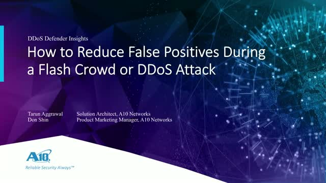 How To Protect Your Users During a Flash Crowd or DDoS Attack