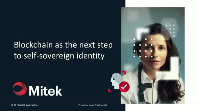 Blockchain as the next step to self-sovereign identity