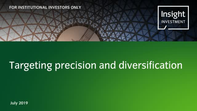 Targeting precision and diversification