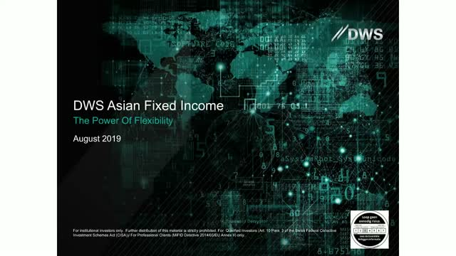 DWS Unconstrained Asian Fixed Income