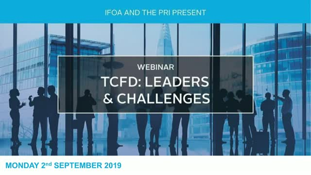 TCFD: Leaders and Challenges