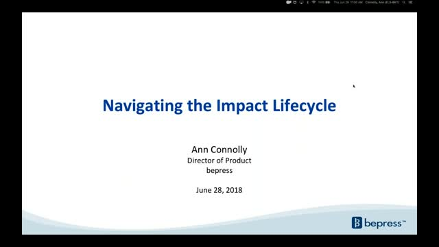 Navigating the Impact Lifecycle