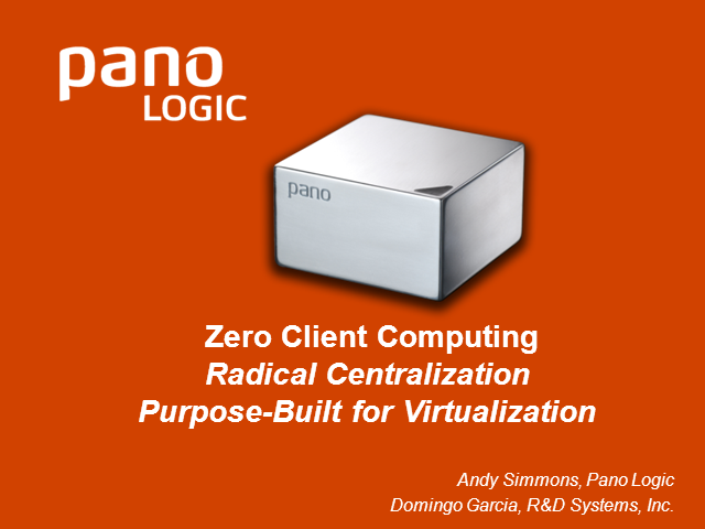 What is Zero Client Computing?