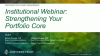 Institutional Webinar: Strengthening Your Portfolio Core