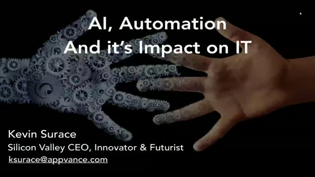 AI, Automation and its impact on IT