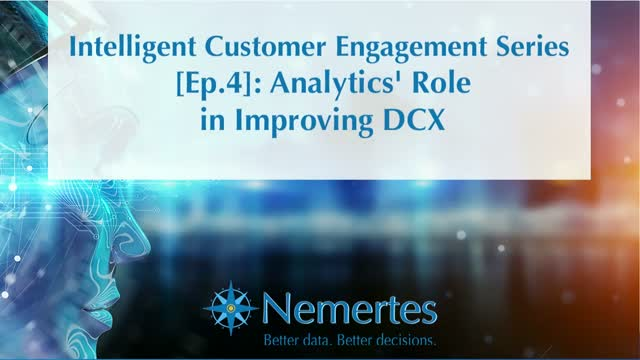 ICE [Ep.4]: Analytics' Role in Improving DCX