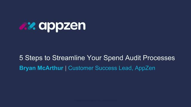 5 Steps to Streamline Your Spend Audit Process