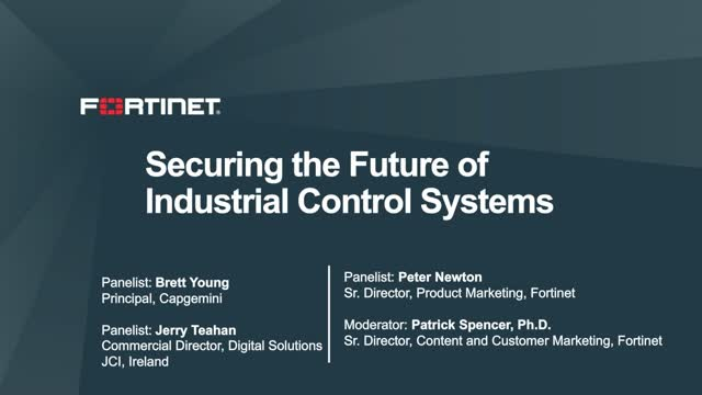 Securing the Future of Industrial Control Systems