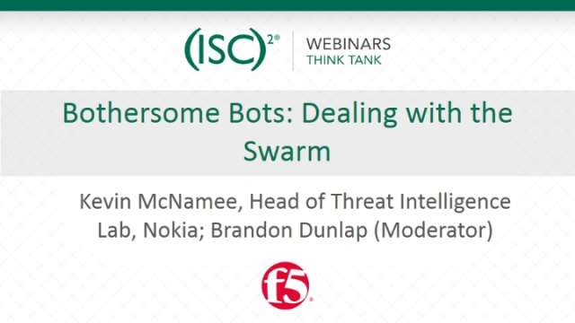 Bothersome Bots: Dealing with the Swarm