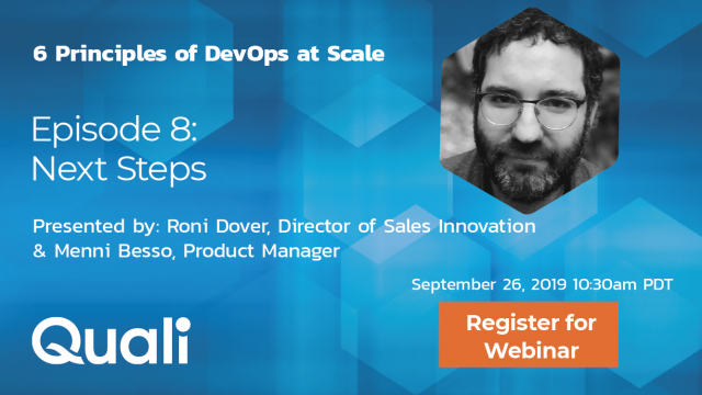 Scaling DevOps episode 8: Next step