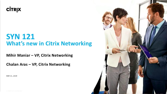 What's new in Citrix Networking
