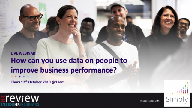 How can you use data on people to improve business performance?