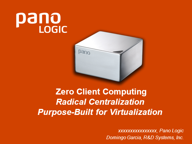 Best Practices for Zero Client Computing