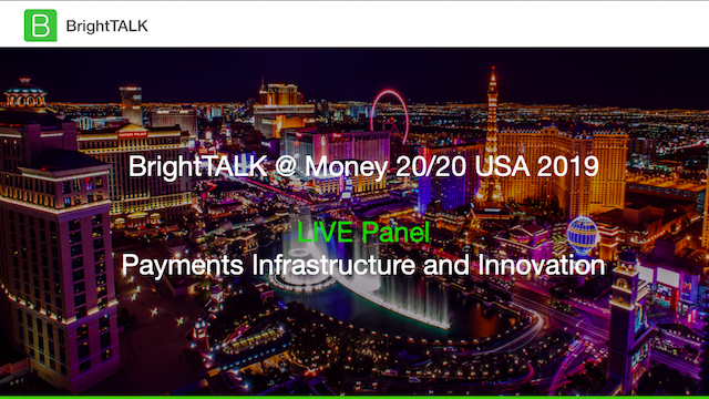 Payments Infrastructure and Innovation