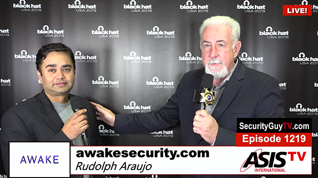 Interview by Chuck Harold from Security Guy TV on Awake Security
