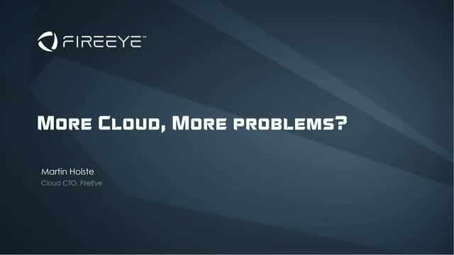 More Cloud, More Problems?