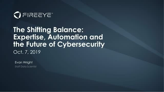 The Shifting Balance: Expertise, Automation and the Future of Cybersecurity
